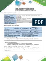 Guía de Actividades y Rúbrica de Evaluación - Actividad 4. Realizar Matrices de Profundización y Cuestionario
