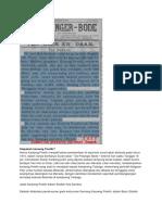 Sejarah Ringkas Perlawanan Rakyat Sulawesi Tengah Terhadap Kekuasaan