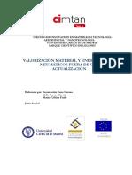 230 Valorización Material y Energética de Neumáticos Fuera de Uso. Actualización