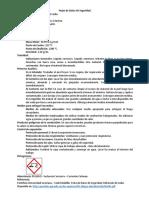 Hojas de Datos de Seguridad - Laboratorio 4 - QO1