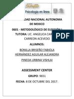 Bonilla, Hernández, Pineda_9651_Assessment Center