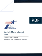 Asphalt Materials and Uses
