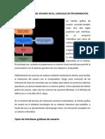 Interfaz Gráfica de Usuario en El Lenguaje de Programación Tema 2