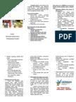 Leaflet Germas oleh Promkes Puskesmas Pakem Kab. Bondowoso
