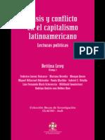 Bettina Levy Crisis y Conflicto en El Capitalismo Latinoamericano Lecturas Publicas Coleccion Becas de Investigacion Clacso-Asdi Spanish Edition