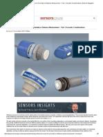 Choosing an Ultrasonic Sensor for Proximity or Distance Measurement -- Part 1_ Acoustic Considerations _ Sensors Magazine