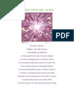 Poema Don Del Alma Vicente