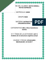 Estructura Organica Actual