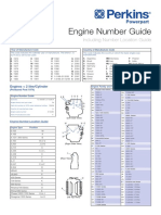 Engine Number Guide (2-Page)