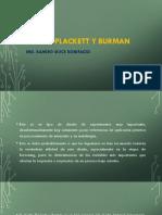 Diseño Plackett y Burman