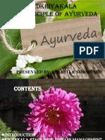 Basic Principle on Shad Kriya  Kala