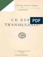 Ce este Transilvania - S. Mehedinţi.pdf
