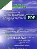 Dr Ira. Etiologi Dan Klasifikasi