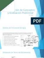 Generación de Conceptos y Evaluación Preliminar (TERMOCUPLA)