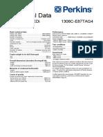 Perkins 1300 Technical Data