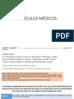 Artículos Médicos Artrosis