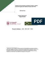 Efectos de Las Tecnologias de Comunicacion en Ingresos Rurales y Capital Humano