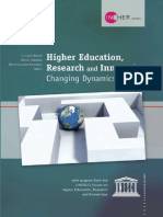 higher education research and innovation