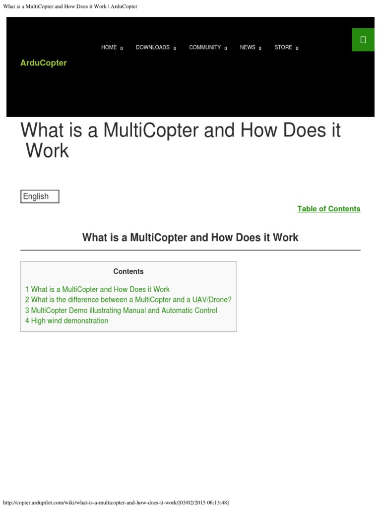Arducopter-v03022015 | Quadcopter | Installation (Computer Programs)
