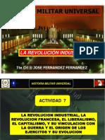 ACTIVIDAD 8 Revolucion Industrial, Revolución Francesa, Liberalismo, Capitalismo