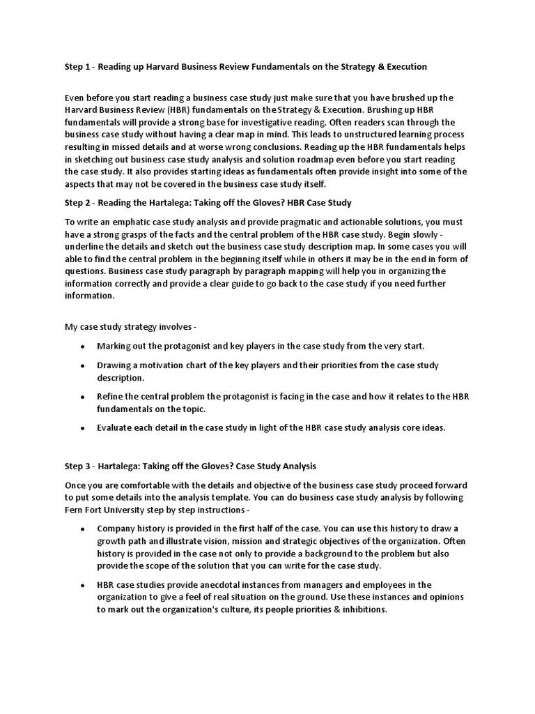 how to analyze a marketing case study