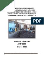 Plan de Trabajo Vma 20151