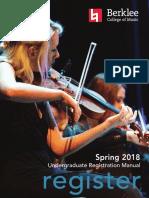 Spring 2018 Registration Manual