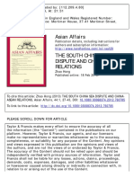 1 Zhao_SCS Disputes & China-ASEAN Relations
