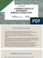 Sistem Kendali Obstacle Avoidance