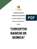Fundamentos de Quimica Unidad 1
