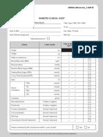 02.Borang Diabetes Clinical Audit MELAYU