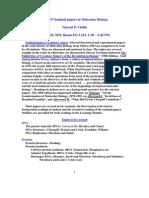 UT Dallas Syllabus for biol4337.002.10f taught by Vincent Cirillo (cirillo)