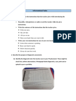 informational task