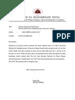 Carta Justifikasaun Faltas