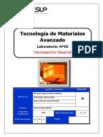 Laboratorio 5 de Materiales