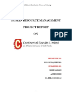 24886172 HRM Report Continental Buscuits