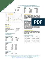Market Update 6th November 2017