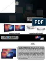 Creative Presentation Sheets | Pro Light Electronic Product