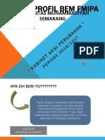 Profil Bem Fmipa