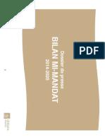 Bilan Mi-Mandat 2014-2020 IMP