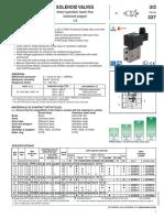 Solenoid Valves 3_2 General Service 327 CAT 80020GB