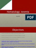 POD Anemia PA670 Katie