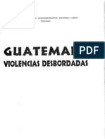 Spanish Guatemala Violencias Desbordadas 2009