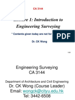 Lecture 1 Introduction to Surveying_2016