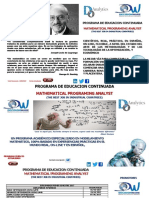 DW Diplomado Advanced Optimization Applied to Electric Sector Programa