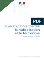 Plan d Action Contre La Radicalisation Et Le Terrorisme