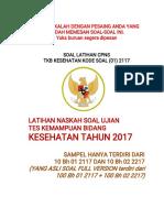 Sampel Tkb Cpns 2017