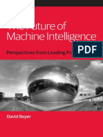 Future of Machine Intelligence