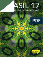 Brasil Tendencias de Consumo 2017