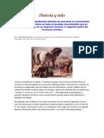 Historia y Mito